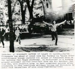 Hồi Ức Của Một Sinh Viên Trong Ngày Xảy Ra Biến cố Cách Mạng 1/1/1963